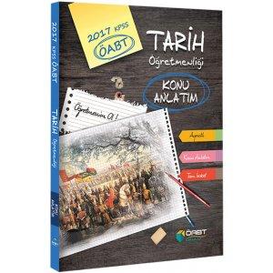 2017 ÖABT Tarih Öğretmenliği Konu Anlatım Öabt Okulu Yayınları