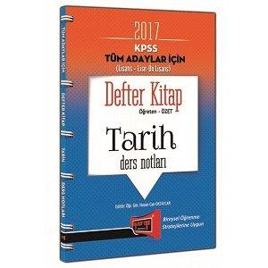 Yargı Yayınları 2017 KPSS Genel Kültür Tüm Adaylar İçin Defter Kitap Tarih Ders Notları