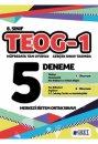 8. Sınıf TEOG 1 Tüm Dersler 5 Deneme Sınavı Özet Yayınları