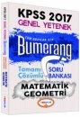 2017 KPSS Bumerang Matematik Geometri Tamamı Çözümlü Soru Bankası Yediiklim Yayınları