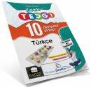 8.Sınıf TEOG-1 Türkçe 10 Deneme Sınavı Çanta Yayınları
