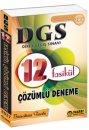 2017 DGS Çözümlü 12 Fasikül Deneme Tasarı Yayınları