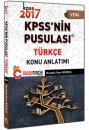 2017 KPSS nin Pusulası Türkçe Konu Anlatımı Doğru Tercih Yayınları