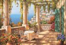 Anatolian Teras Manzarası 260 Parça Puzzle