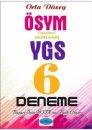Rota Yayınları ÖSYM Formatında YGS Orta Düzey 6 Deneme Sınavı