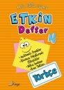 Kaya Yayınları  4.Sınıf Etkin Defter Türkçe