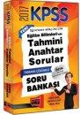 Yargı Yayınları 2017 KPSS Eğitim Bilimlerinde Tahmini Anahtar Tamamı Çözümlü Soru Bankası
