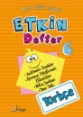 Kaya Yayınları 6.Sınıf Türkçe Etkin Defter