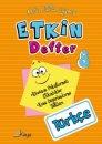 Kaya Yayınları 8.Sınıf Türkçe  Etkin Defter