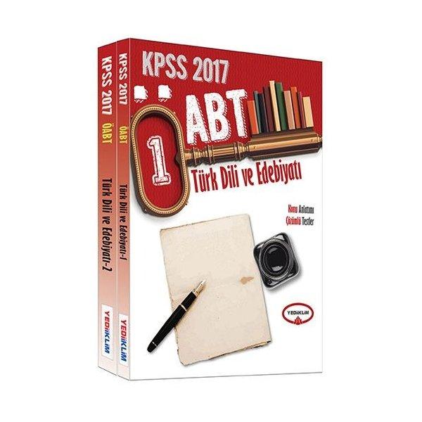 2017 ÖABT Türk Dili ve Edebiyatı Öğretmenliği Konu Anlatımı Çözümlü Testler Modüler Set Yediiklim Yayınları