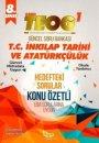 Barış Kitap 8. Sınıf TEOG T.C İnkılap Tarihi ve Atatürkçülük Güncel Soru Bankası