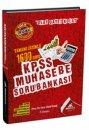 2017 KPSS A Grubu Muhasebe Tamamı Çözümlü Soru Bankası Ankara Kariyer Yayınları