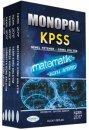 2017 KPSS Genel Yetenek Genel Kültür Konu Anlatımlı Modüler Set Monopol Yayınları