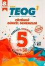 Barış Kitap TEOG 1 Çözümlü Güncel Denemeler 5 Fasikül Deneme