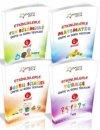 Duru Yayıncılık 4. Sınıf Akademi Çocuk Etkinliklerle Ünite Soru ve Testleri Seti 4 Kitap