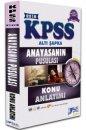 2018 KPSS Anayasanın Pusulası Konu Anlatımı Altı Şapka Yayınları