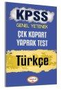 2017 KPSS Türkçe Çek Kopart Yaprak Test Yediiklim Yayınları