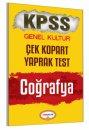 2017 KPSS Coğrafya Çek Kopart Yaprak Test Yediiklim Yayınları