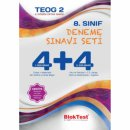 8. Sınıf TEOG 2 Nisan 4+4 Deneme Sınavı Blok Test Yayınları