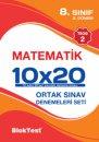 8. Sınıf TEOG 2 Nisan Matematik 10x20 Denemeleri Seti Blok Test Yayınları