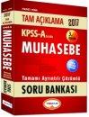 2017 KPSS A Muhasebe Tamamı Çözümlü Soru Bankası Yediiklim Yayınları