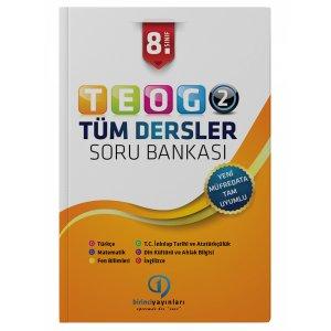 8.Sınıf TEOG 2 Tüm Dersler Soru Bankası Birinci Yayınları