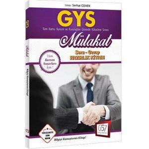 2017 GYS Mülakat Soru Cevap Hazırlık Kitabı 657 Yayınları