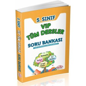 Editör 5. Sınıf VIP Tüm Dersler Soru Bankası