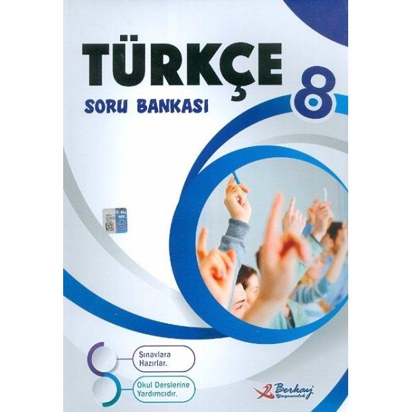 Berkay Yayıncılık 8. Sınıf Türkçe Soru Bankası