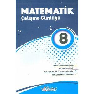 Berkay Yayıncılık 8. Sınıf Matematik Çalışma Günlüğü