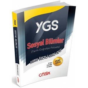 Çözüm Yayınları YGS Sosyal Bilimler Konu Özetli Kurs Seti