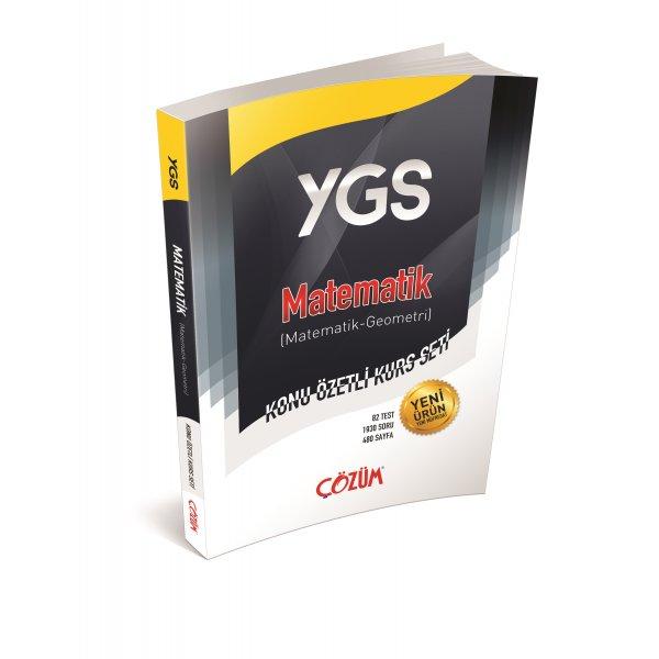 Çözüm Yayınları YGS Matematik Konu Özetli Kurs Seti