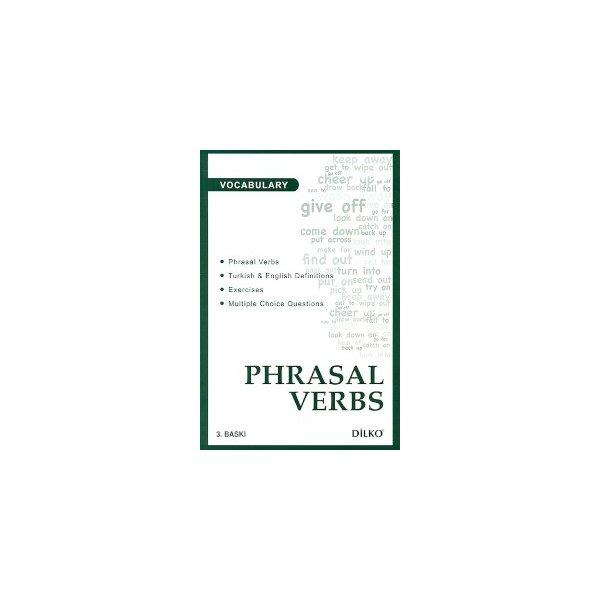 Vocabulary Phrasal Verbs Dilko Yayıncılık