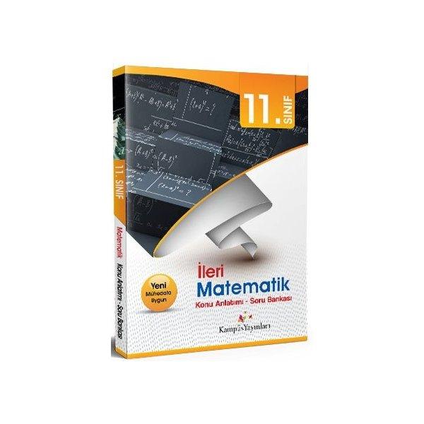 Kampüs Yayınları 11. Sınıf İleri Matematik Konu Anlatımlı Soru Bankası