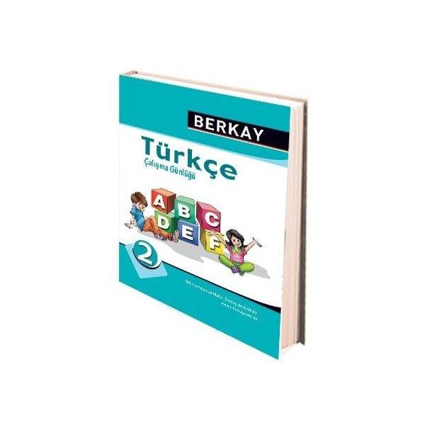 Berkay Yayıncılık 2. Sınıf Türkçe Çalışma Günlüğü