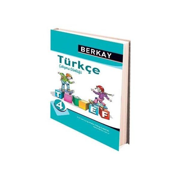 Berkay Yayıncılık 4. Sınıf Türkçe Çalışma Günlüğü