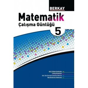Berkay Yayıncılık 5. Sınıf Matematik Çalışma Günlüğü