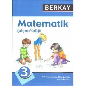 Berkay Yayıncılık 3. Sınıf Matematik Çalışma Günlüğü