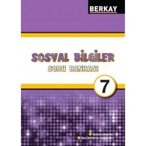 Berkay Yayıncılık 7. Sınıf Sosyal Bilgiler Soru Bankası