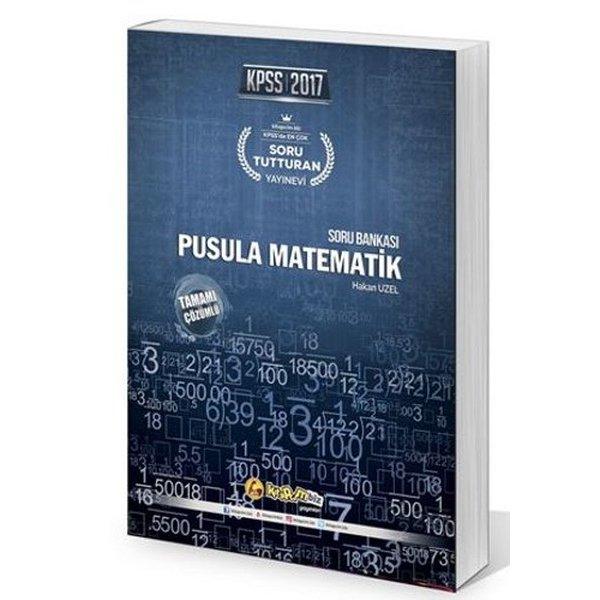 2017 KPSS Pusula Matematik Soru Bankası Kitapcim.biz