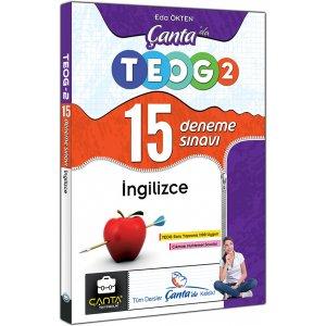 Çanta Yayınları İngilizce Çantada TEOG 2 Nisan 15 Deneme Sınavı