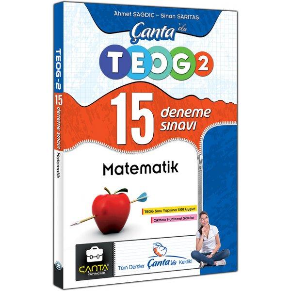 Çanta Yayınları Matematik Çantada TEOG 2 Nisan 15 Deneme Sınavı