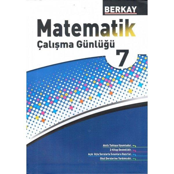 Berkay Yayıncılık 7. Sınıf Matematik Çalışma Günlüğü