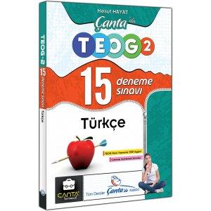 Çanta Yayınları Türkçe Çantada TEOG 2 Nisan 15 Deneme Sınavı