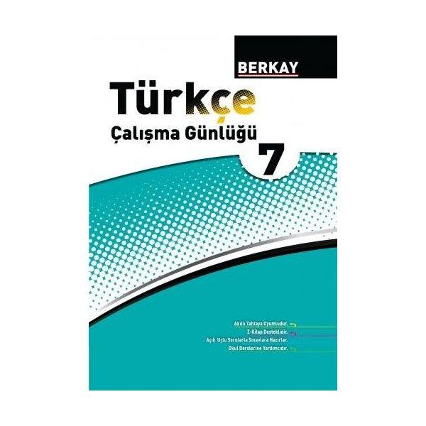 Berkay Yayıncılık 7. Sınıf Türkçe Çalışma Günlüğü