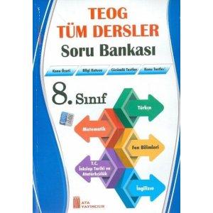 Ata Yayıncılık 8. Sınıf TEOG Tüm Dersler Soru Bankası