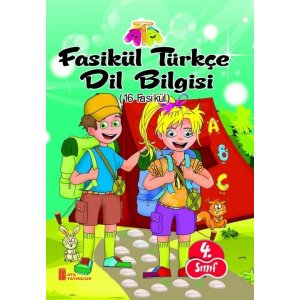 Ata Yayıncılık 4. Sınıf Fasikül Türkçe Dil Bilgisi