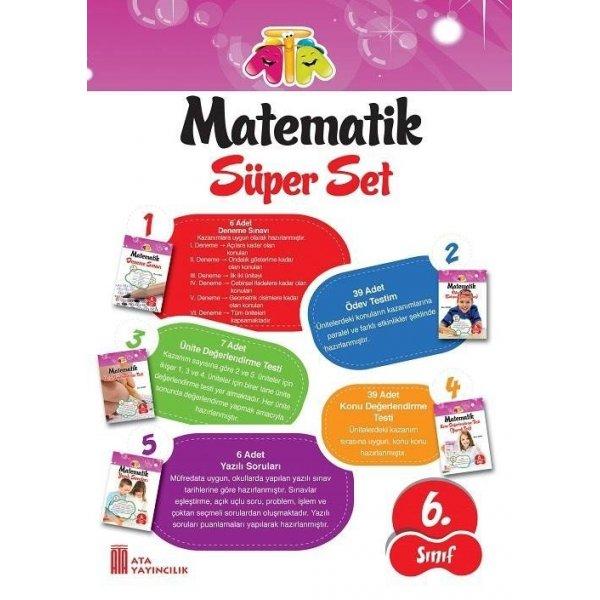 Ata Yayıncılık 6. Sınıf Matematik Süper Set