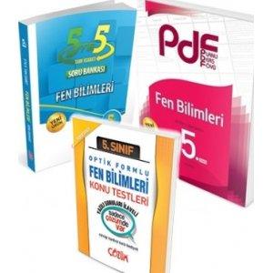 Çözüm Yayınları 5. Sınıf Fen Bilimleri PDF Konu ve Soru Seti Yaprak Test Hediyeli