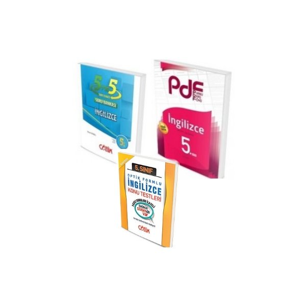 Çözüm Yayınları 5. Sınıf İngilizce PDF Konu ve Soru Seti Yaprak Test Hediyeli